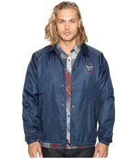 Brixton Wheeler Jacket Navy Men's Coat