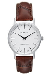 Gant Park Hill 32 Watch Braun Silver
