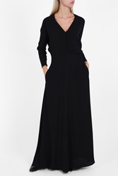 Paul And Joe Lace Back Maxi Dress Black