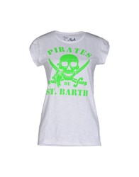 Mc2 Saint Barth Topwear T Shirts Women Acid Green