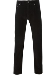 Dolce And Gabbana Corduroy Trousers Black