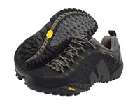 Merrell Intercept Smooth Black Leather Men's Lace Up Casual Shoes