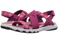 Ryka Median Rose Violet Hot Pink Fusion Coral Bougainvillea Women's Sandals