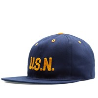 Ebbets Field Flannels Great Lakes Naval Station Cap Blue