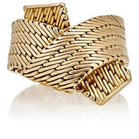 Mahnaz Collection Vintage Women's Engraved Yellow Gold Ring No Color