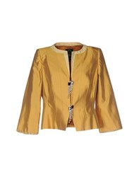 Ivan Montesi Suits And Jackets Blazers Women Yellow