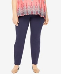 Motherhood Maternity Plus Size Skinny Pants Navy