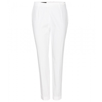 Loro Piana Jari New Baker Stretch Twill Trousers White