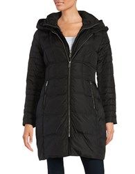 Dkny Layered Style Puffer Parka