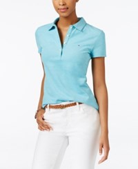 Tommy Hilfiger Bethesda Polo Top Lake Blue