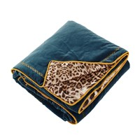 Roberto Cavalli Venezia Throw Petroleum 130X180