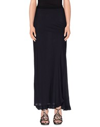Jucca Skirts Long Skirts Women Dark Blue