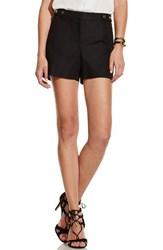Women's Vince Camuto Stretch Cotton Shorts Rich Black