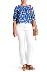 Kut From The Kloth Worthy Flare Jean Plus Size White