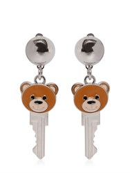 Moschino Key Teddy Bear Earrings