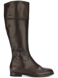 Anna Baiguera 'Anna Ride' Knee High Boots Brown