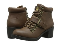 Howie Tan Spartan Women's Lace Up Boots Brown