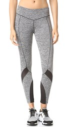 Solow Contort Capri Leggings Grey