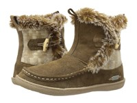 Woolrich Pine Creek Chinchilla Camo Wool Women's Boots Brown