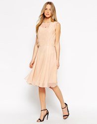 Traffic People All I Ever Wanted Midi Dress In Silk Cream