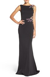 Jovani Women's Embellished Knit Gown
