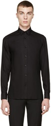 Saint Laurent Black Button Up Shirt