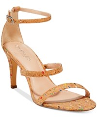 Charles By Charles David Zion Strappy Dress Sandals Women's Shoes Rainbow Cork