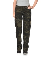 Hydrogen Casual Pants Military Green