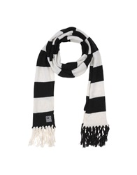Golden Goose Oblong Scarves White