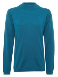 Numph Numph Myra Turtle Neck Jumper Ink Blue