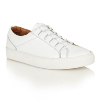 Frank Wright Mitch Lace Up Casual Trainers White