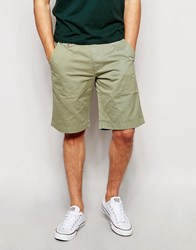 Barbour Chino Shorts Olive Green