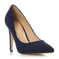 Head Over Heels Addyson Square Heel Pointed Courts Navy