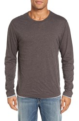 Tailor Vintage Men's Reversible T Shirt Brown