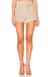 Rag And Bone Lace Up Short Gray