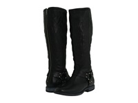 Frye Phillip Harness Tall Black Soft Vintage Leather Women's First Walker Shoes