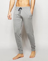 Esprit Jersey Cuffed Joggers In Slim Fit Grey