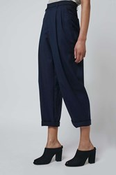 Tailored Mensy Trousers By Boutique Navy Blue