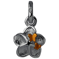 Links Of London Flower And Butterfly Charm Silver Gold
