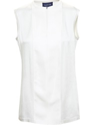 Lanvin Sleeveless Blouse Nude And Neutrals