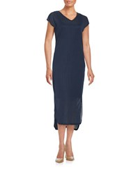 Vero Moda Textured Midi Dress Black Iris