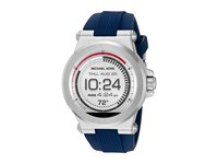 Michael Kors Dylan Display Smartwatch Mkt5008 Navy Silicone Watches