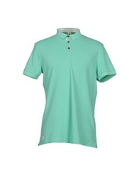 Le Coq Sportif Polo Shirts Light Green