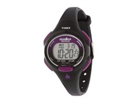 Timex Sport Ironman Black And Purple Mid Size 10 Lap Watch Black Purple Watches Multi
