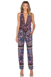 Twelfth St. By Cynthia Vincent Gypsy Jumpsuit Black