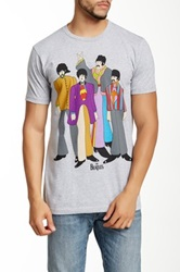 Bravado The Beatles Yellow Submarine Graphic Tee Gray