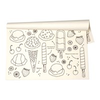 Kitchen Papers Ice Cream Party Placemats 25 Sheets