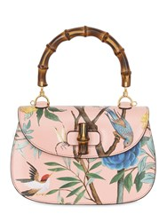 Gucci Classic Bamboo Printed Leather Bag