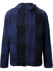White Mountaineering Patchwork Hooded Jacket