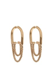 Eddie Borgo Allure Chain Gold Plated Earrings Yellow Gold